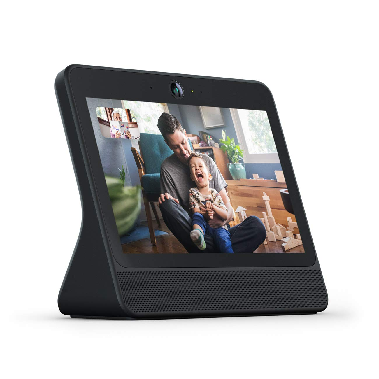 "Portal from Facebook. Smart, Hands-Free Video Calling with Alexa Built-in [10.1"" Display] – Black"