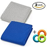 Best Cooling Scarves - Soft Cooling Towel for Instant Relief, 48inch Extra Review