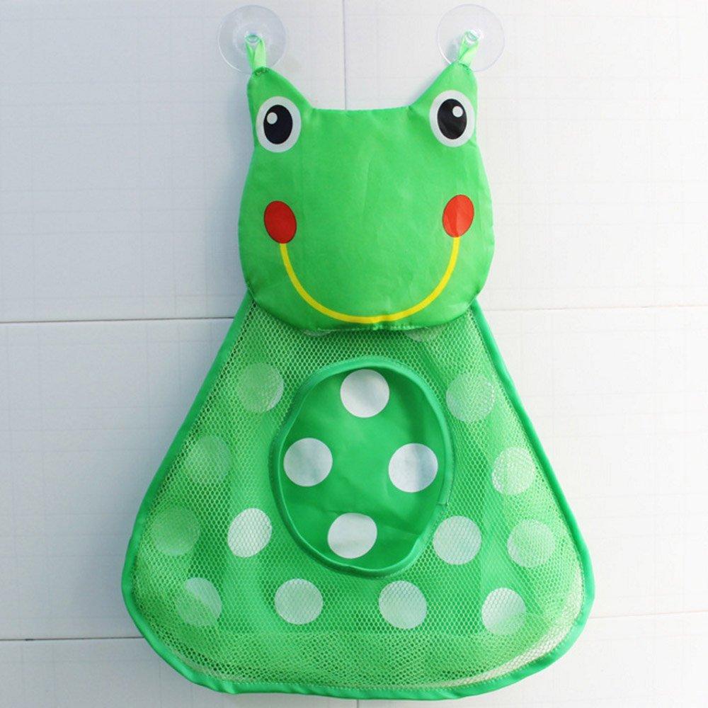 hermosa red de ba/ño de secado r/ápido con dise/ño de pato y con fuertes ventosas bolsas de almacenamiento multiusos para los juguetes de ba/ño de tu beb/é Organizador de juguetes de ba/ño