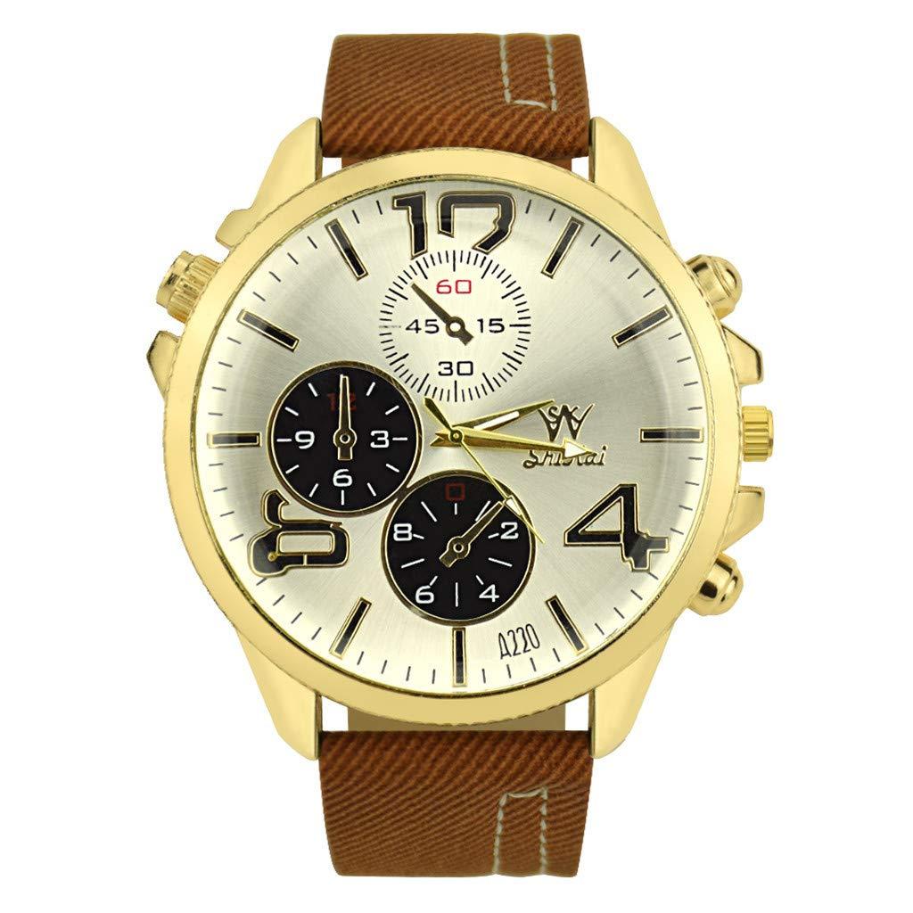 POJIETT Ofertas Relojes Mujer Hombre Reloj Analógico de Cuarzo ...