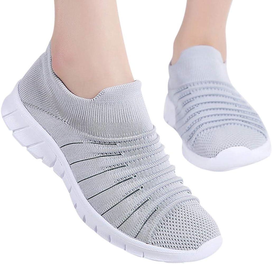 Luckycat Mujer Zapatillas Deportivas Zapatos para Correr Cuña ...