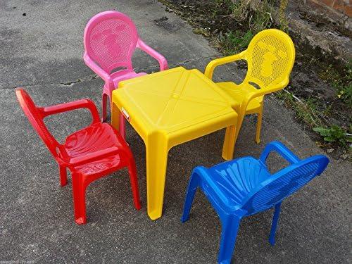 Tavolo E Sedie Per Bambini Da Esterno.Premium Bambini In Plastica Per Tavolo E Sedie Da Giardino