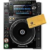 Pioneer DJ CDJ-2000NXS2 Professional Multi Player Bundle with Polishing Cloth