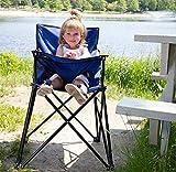 Lightweight Indoor/Outdoor Portable Travel High Chair by Svan w/Carrying Bag