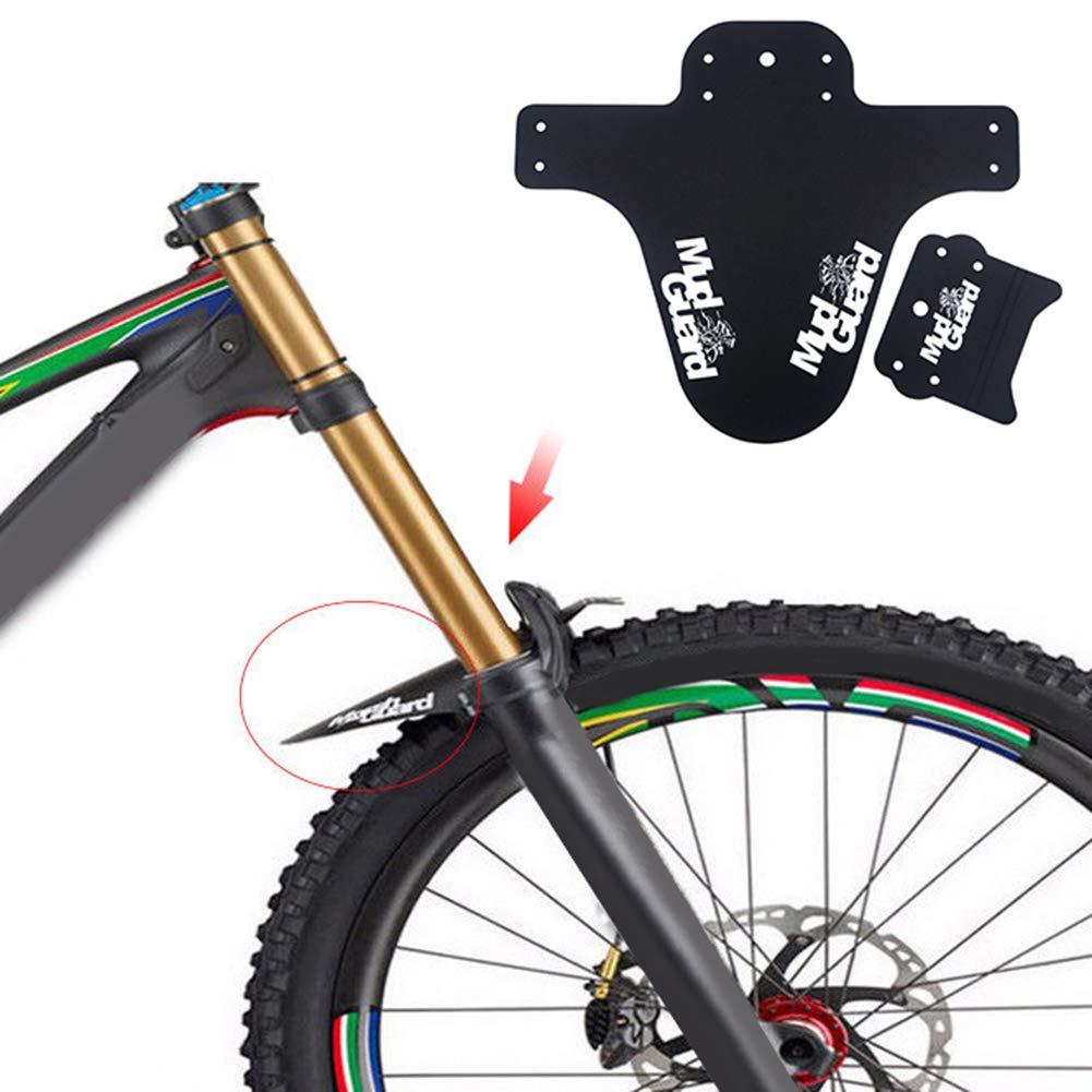 scatkinPYwl MTB Mountain Bike Front Bicycle Fender Lightweight Mudguard Mud Guard Accessory Yellow