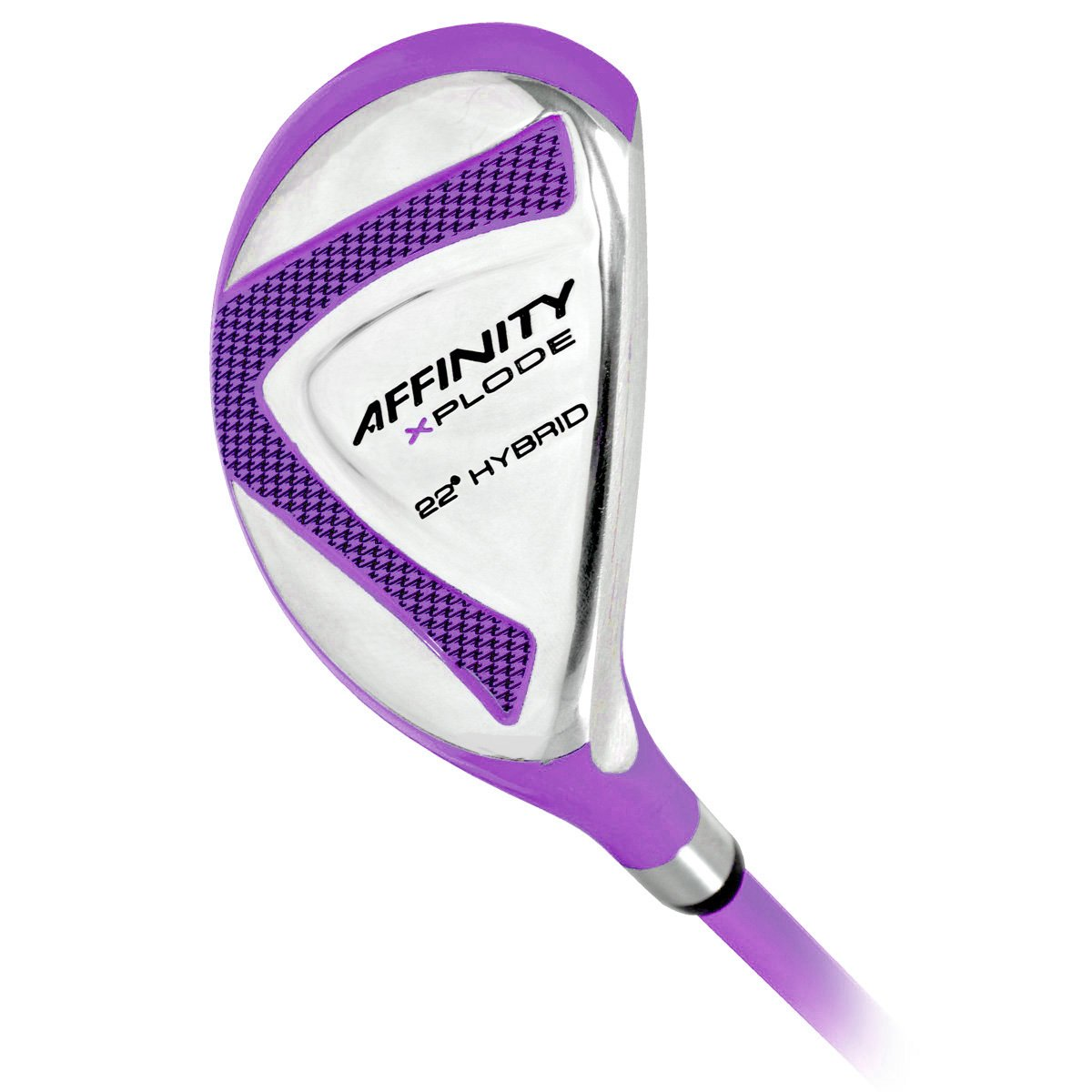 AFFINITY Women's Golf Xplode 4 Hybrid Club Set, Ladies Flex, Right Hand, Purple