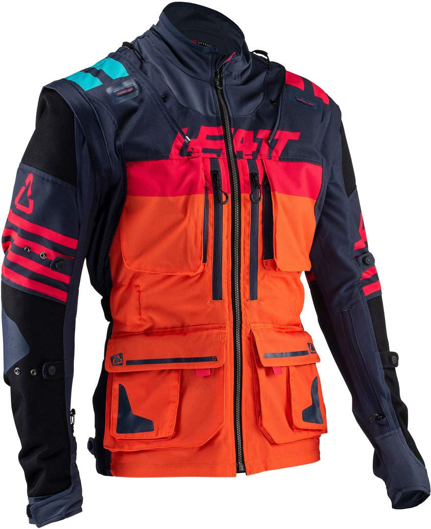 Leatt GPX 5.5 Enduro Riding Jacket-Steel-L 5019001122