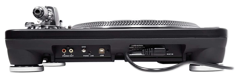 Amazon.com: Audio Technica AT-LP1240-USBXP Direct-Drive DJ ...