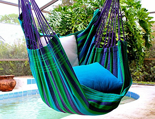 Wild Blueberry – Fine Cotton Hammock Chair, Made in Brazil