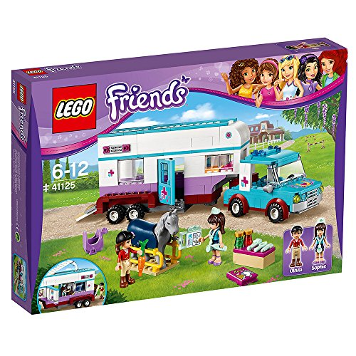 LEGO 41125 Friends Trailer Construction