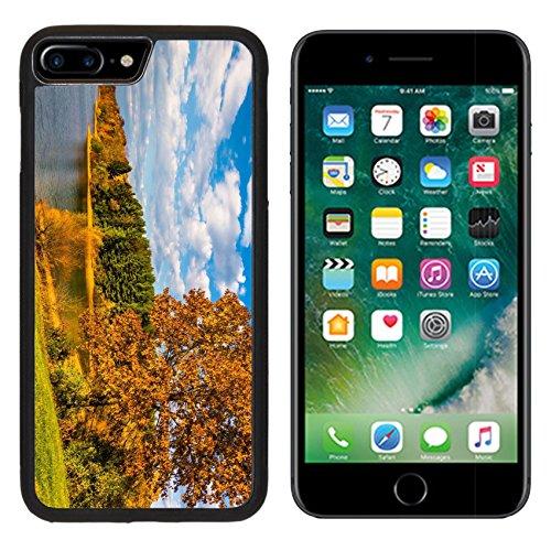 Luxlady Premium Apple Iphone 7 Plus Aluminum Backplate Bumper Snap Case Iphone7 Plus Image Id  25228020 Autumn Tree And View Of Lake Marburg At Codorus State Park Pennsylvania