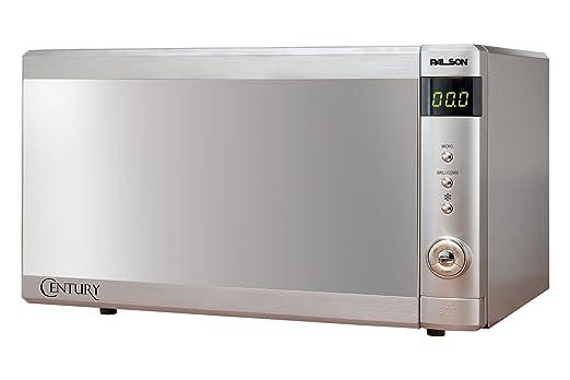 Palson - Microondas 30532, Century 25L, 900W, Con Grill Simultaneo, Diseño Moderno Acabado C/Inox Disp