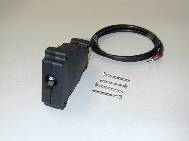 QTY5 VLYNX VCB50 12VDC-48VDC 50 Amp Resettable DUMP HOISTS Circuit Breaker