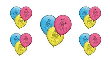 ALMACENESADAN 0672, Pack 16 Globos Disney Princesas ...