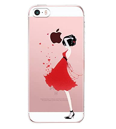 Amazon.com: iPhone se funda, funda iPhone 5S, Matop Niñas ...