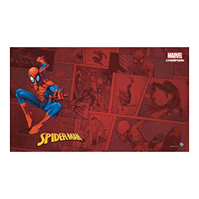 Fantasy Flight Games Marvel: Spider-Man Game Mat, Various (MS02en): Toys & Games