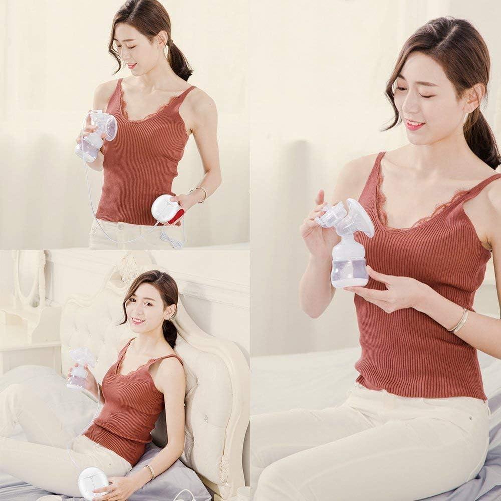 con certificaci/ón CE botella de almacenamiento de leche segura sin BPA masaje autom/ático para prolactina postparto Bomba de lactancia materna dual