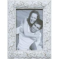 Porta Retrato Maple, Kapos, Branco, 15 x 10 cm