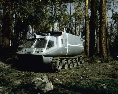 UFO SHADO mobile in forest Gerry Anderson vehicle 16x20 for sale  Delivered anywhere in USA