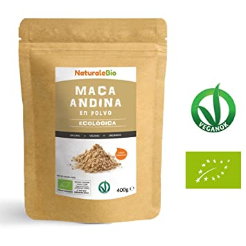Maca Andina Ecológica en Polvo [ Gelatinizada ] 400g | Organic Maca Powder Gelatinized. 100
