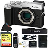 Panasonic DMC-GX8 (SLK1) Lumix Digital Camera Bundle (Silver)
