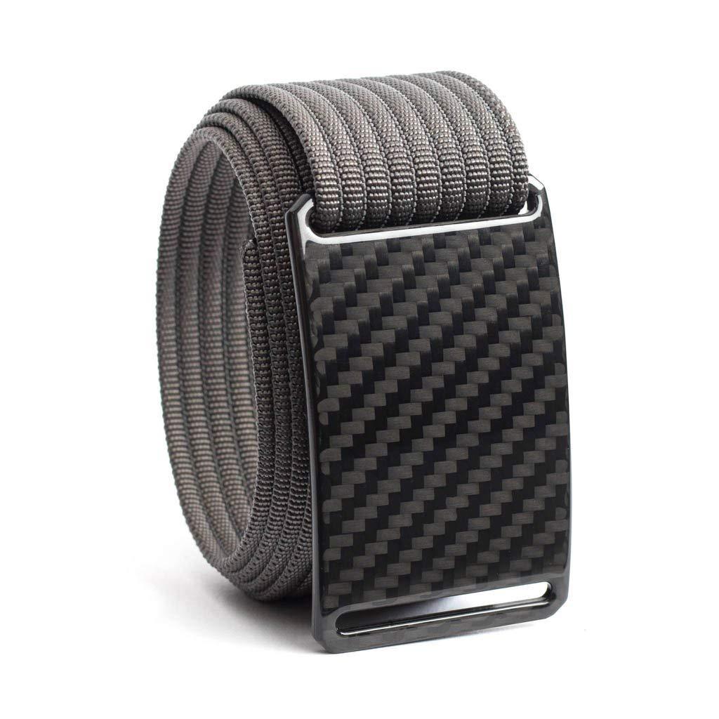 Carbon Fiber Belt GRIP6 (42in Dark Matter w/Grey Strap)