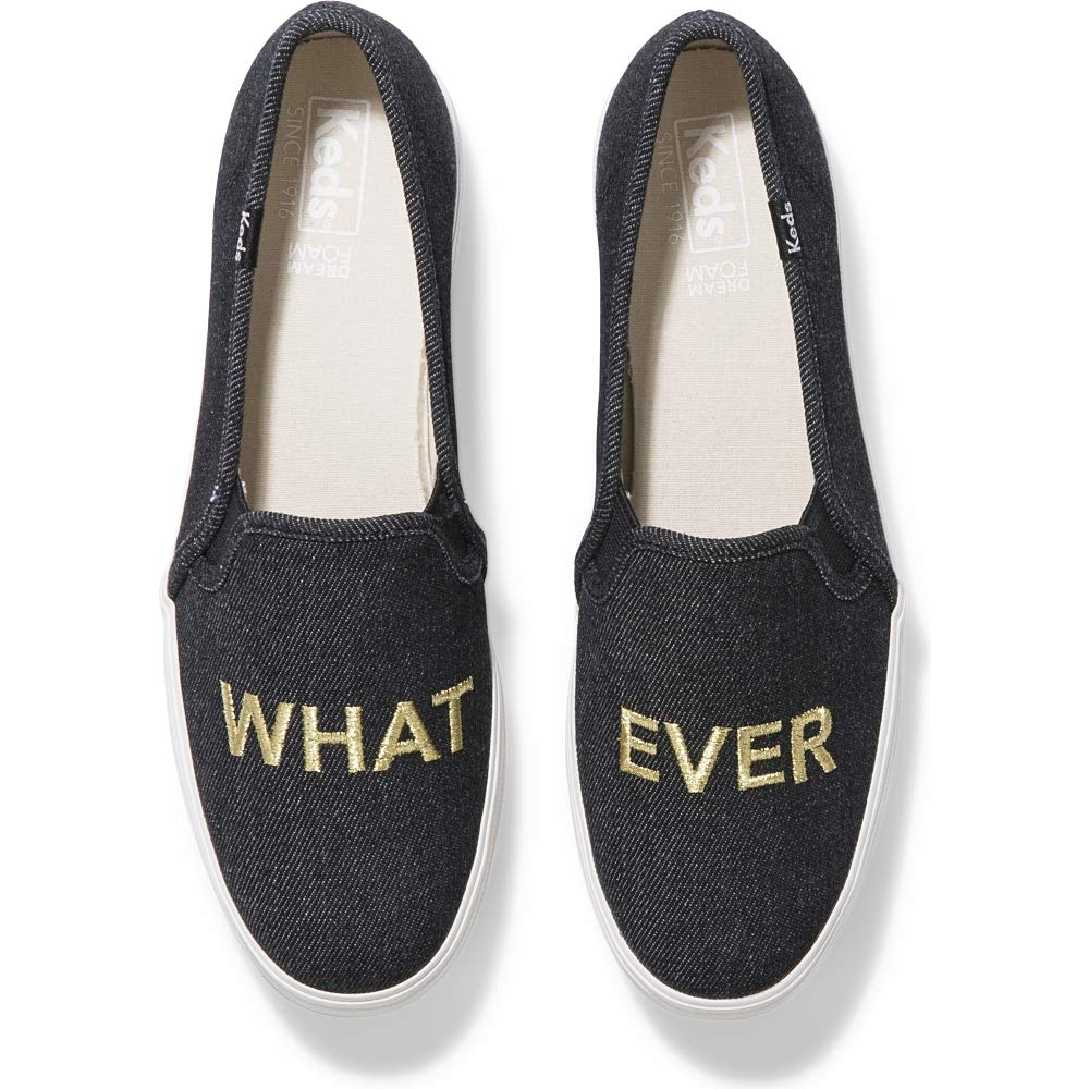 Buy Keds Triple Decker Embroidery 'What