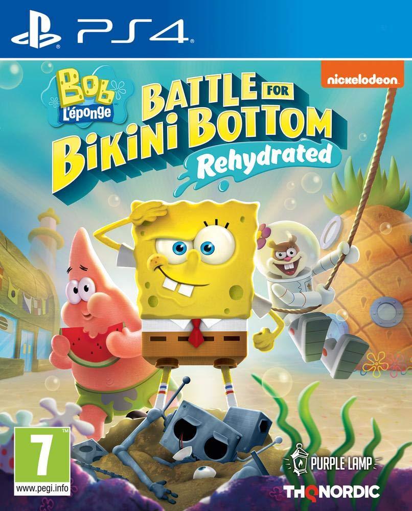 Nintendo Spongebob Squarepants: Battle for Bikini Bottom - Rehydrated (PS4) - Nintendo Switch