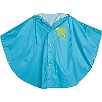WHT Unisex Kid's Raincoat Baby Hooded Waterproof Rain Poncho