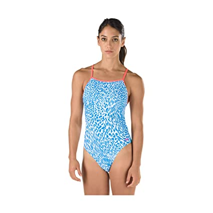 Speedo Printed One Back Suit (34)