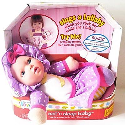 Nursery Love Talking, Eatn Sleep Doll