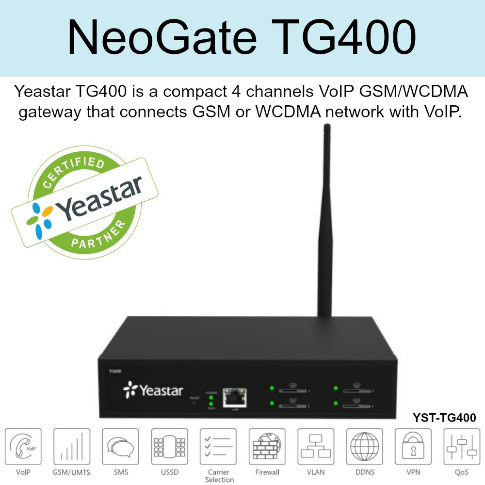 Yeastar NeoGate TG400 by YEASTAR