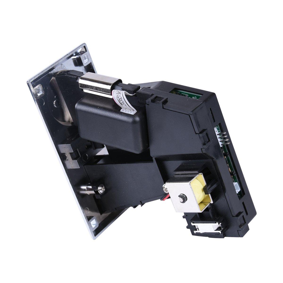 6 Clases Diferentes Monedas aceptador validador para Juegos de Video Arcade Parte de máquina expendedora y fichas de Panel colector de fichas Soporte ...