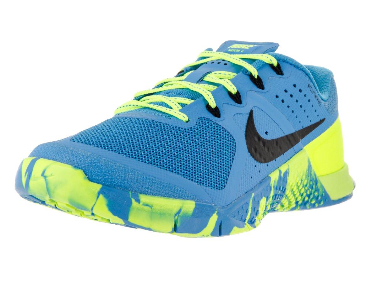 Nike Womens Metcon 2 AMP Running Trainers 843972 Sneakers Shoes B01HU9WD4E 7 B(M) US|Blue Neon