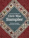 quilt books civil war - Barbara Brackman's Civil War Sampler: 50 Quilt Blocks with Stories from History