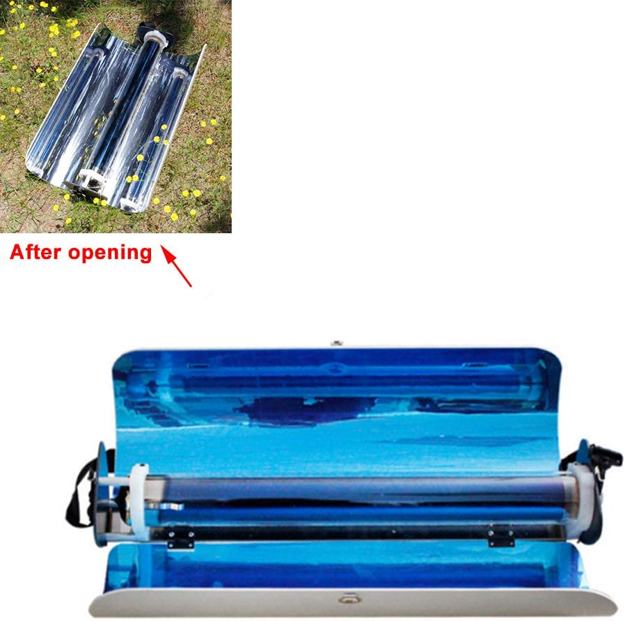 Himamk Portable Solar Cooker, Solar Stove, Solar Oven, Solar Grill, Fuel Free Barbecue, Must-Have for Picnic, Camping,Fishing 624213cm 4.5kg