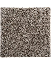 """Smart Squares Walk in The Park 9"""" x 9"""" Residential Soft Carpet Tiles, Peel and Stick, Easy DIY Installation, Seamless Appearance, Made in USA (Sample, 377 Lace Agate)"""