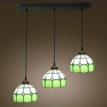 Byb yLM991 vendanges suspension vert plaque de suspension 3 licht