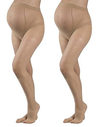 20 DEN Made in Italy St/ützstrumpfhosen Schwangerschaft mittlere Kompression Schwarz M XL CALZITALY Umstandsstrumpfhose mit St/ützeffekt L Hautfarbe S
