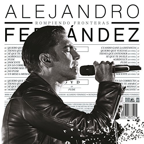 Alejandro Fernández Stream or buy for $9.99 · Rompiendo Fronteras (Deluxe)