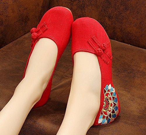 Red Tianrui Crown mujer Ballet Crown Tianrui qq6RHX