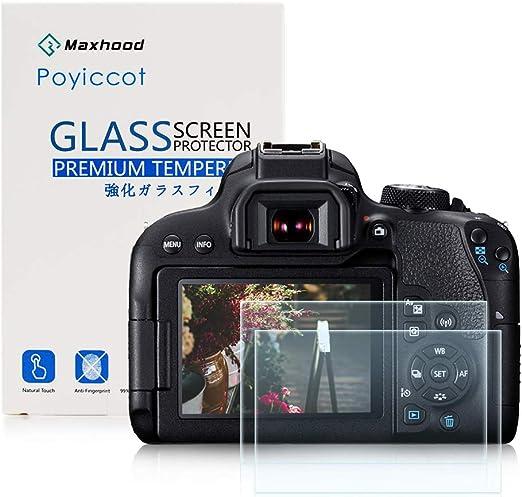 Parte trasera Protector de Pantalla LCD 8H de dureza de vidrio para Canon EOS 700D