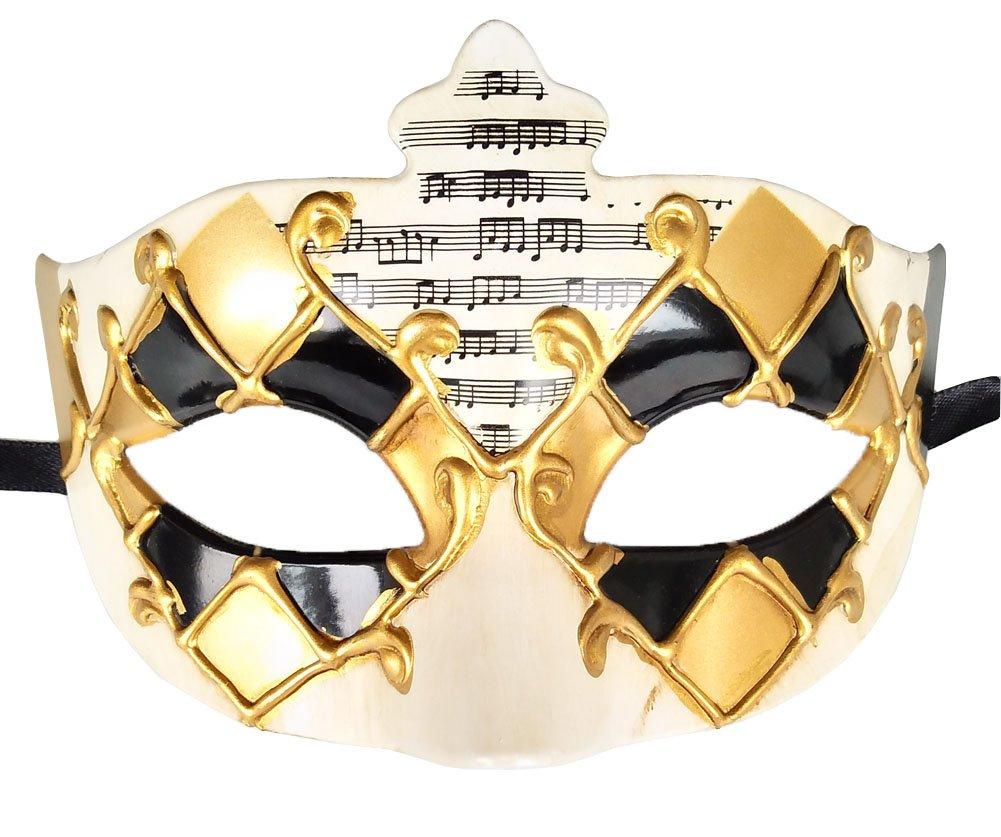 Maskerade Maske Vintage Musical überprüft Krone Venezianischen ...