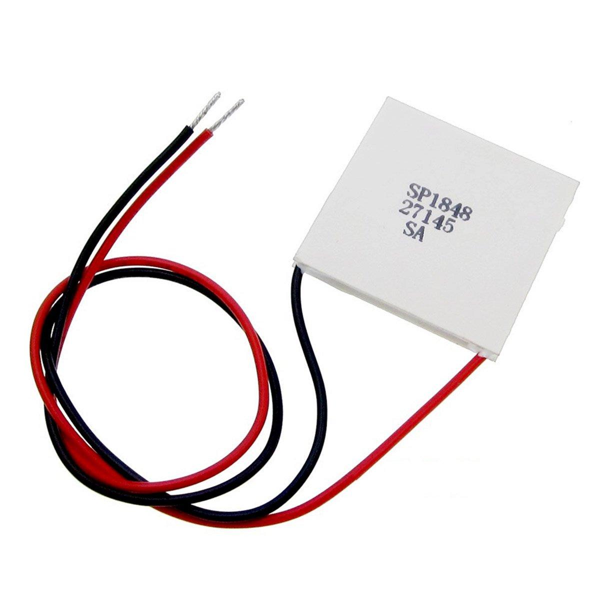 CUHAWUDBA 40x40mm neues nuetzliches einfaches Modul-thermoelektrischer Generator-Halbleiter-hohe Temperatur Macht