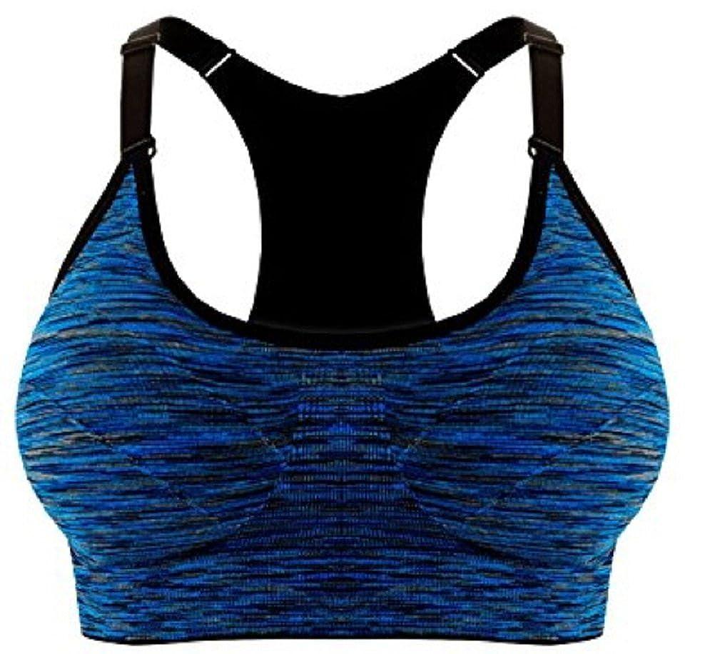 ILOVEDIY Damen Sport BH Yoga Bra Top Halt mit Polster ohne Bügel sx-21