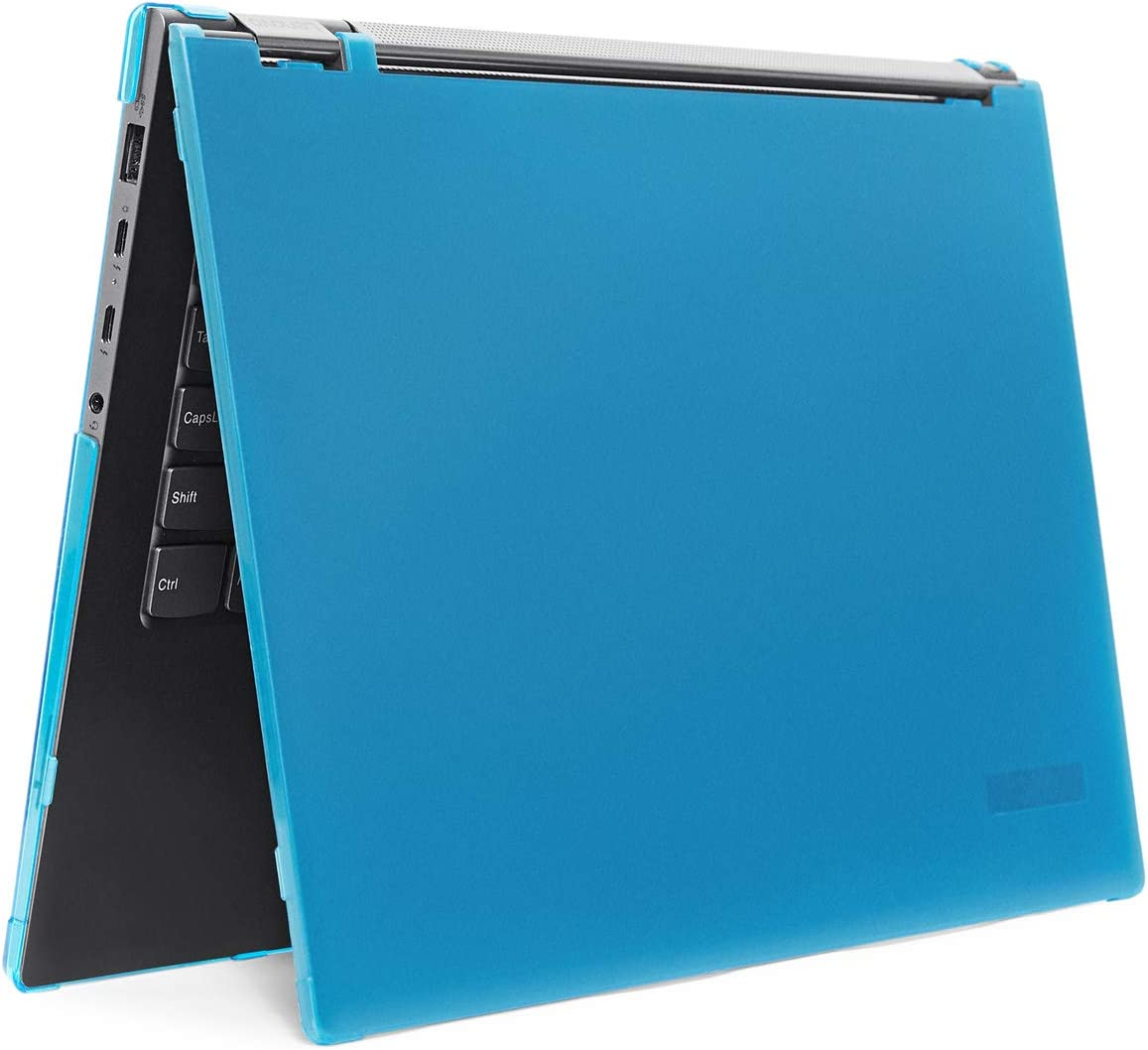 """mCover Hard Shell Case for 2019 15.6"""" Lenovo Yoga Chromebook C630 Series 2-in-1 Laptop Computer (NOT Fitting Other Lenovo Yoga/Chromebook laptops) (Yoga-CB-C630 Aqua)"""