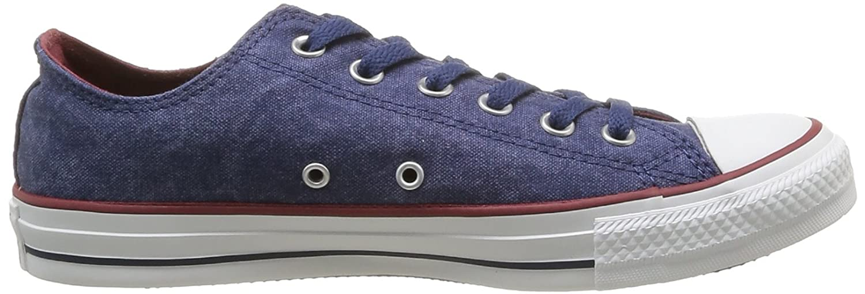 Converse Ctas Washed Ox, Baskets pour femme - bleu - bleu, 6 UK