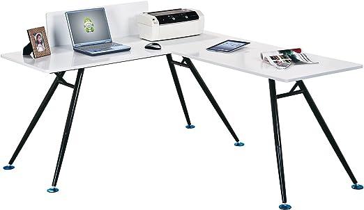 YELLOO - Mesa de Escritorio para la Oficina, diseño Angular Modelo ...