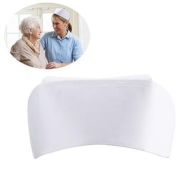OULII Nurse Hat Headband (White): Toys & Games