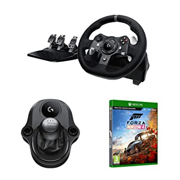 5f9f1df96e3 Logitech G920 Driving Force Racing Wheel & Pedals (Xbox One & PC) UK ...